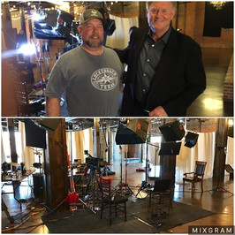 Had a blast with Peter Van Sant and CBS