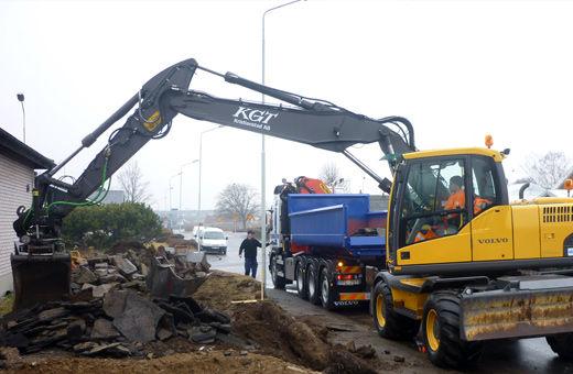 KGT Entreprenad AB grävning
