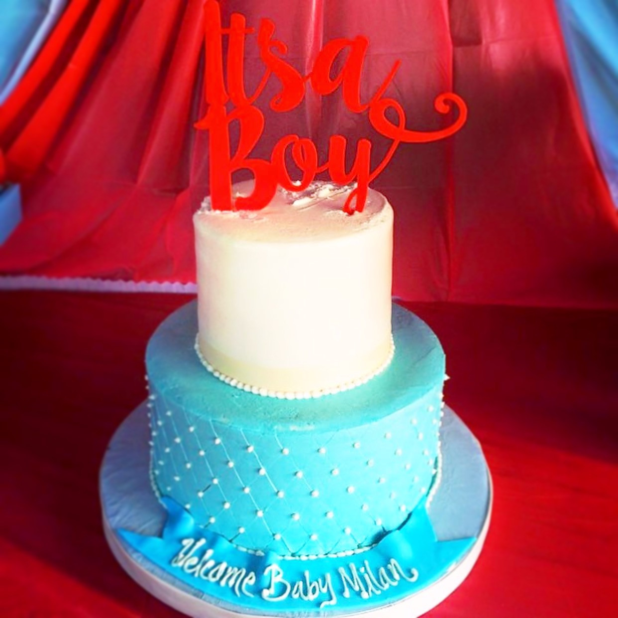 Baby Shower Cakes By Rustika Cafe And Bakery
