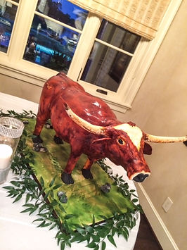 3D Custom Groom's Cake