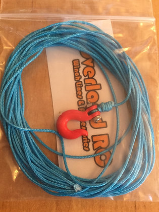 2m Winch Line with Hook