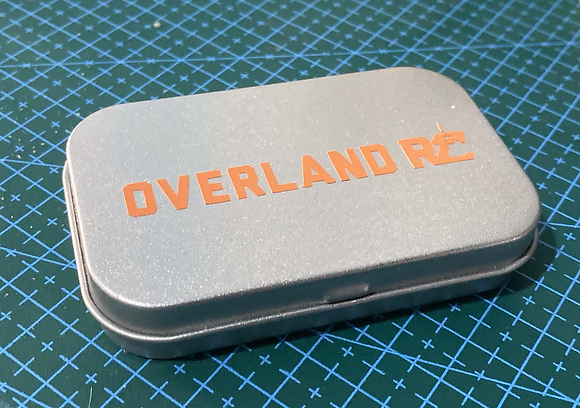 Overland RC 'Nuts and Bolts' Tin