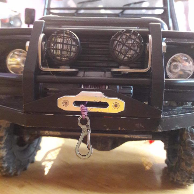 Purple Winch Line with Clasp