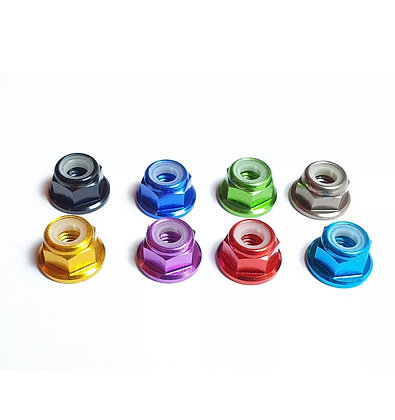M4 Nylock Wheel Nut (x4)