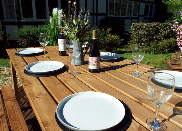 HB110 - Six Seater Table Set