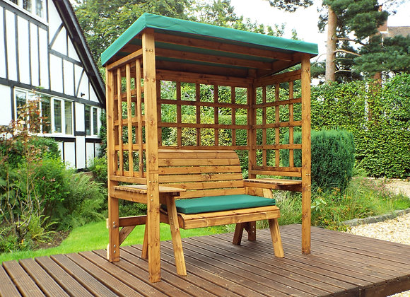 HB144G - Wentworth Two Seater Arbour Green