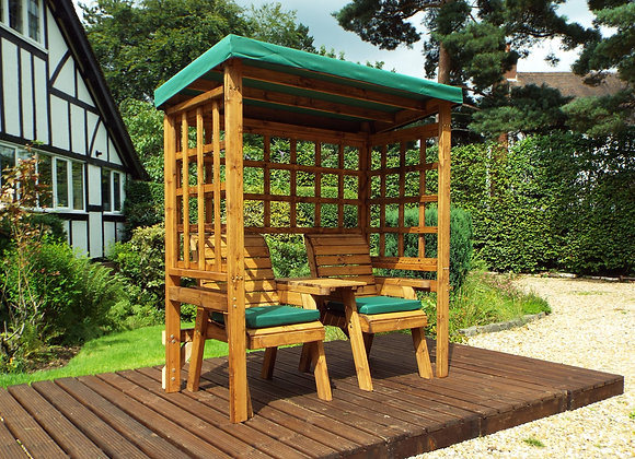 HB148G - Henley Twin Arbour Green