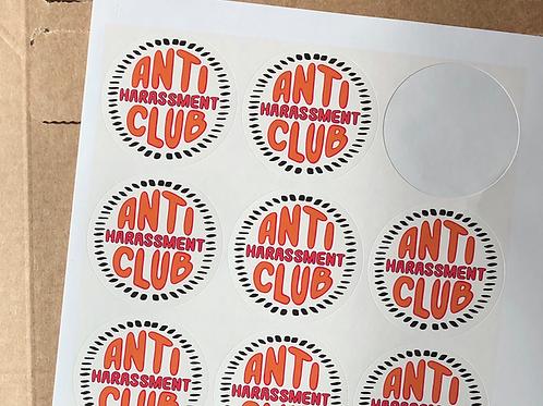 Anti Harassment Sticker