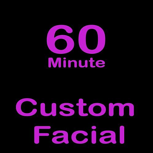 60 Minute Custom Facial