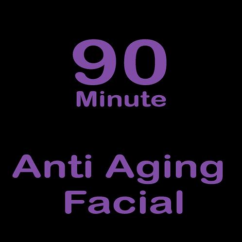 90 Minute Anti Aging Facial