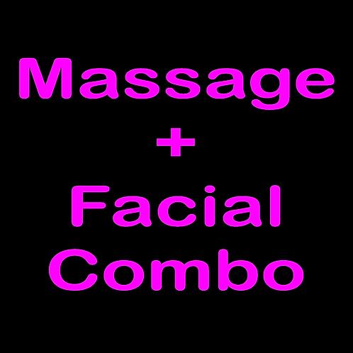 Massage + Facial Combo