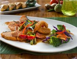 Choo-Chee Salmon Curry