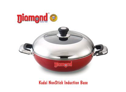 Kadai Non-stick Induction Base