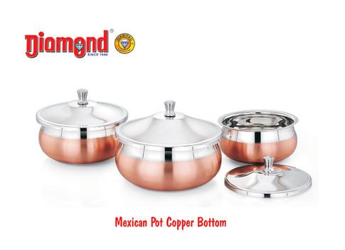 Mexican Pot Copper Bottom