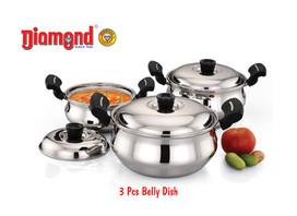 3pcs Belly Dish