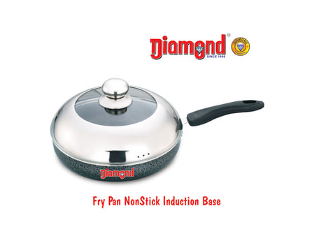 Fry Pan Non-stick Induction Base