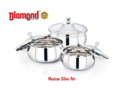 Mexican Silver Pot