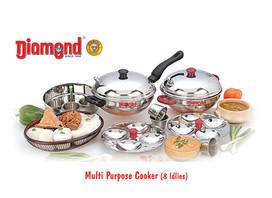 Multi Purpose Cooker (8 Idlies)