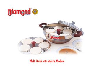 Multi Kadai With Whistle Medium
