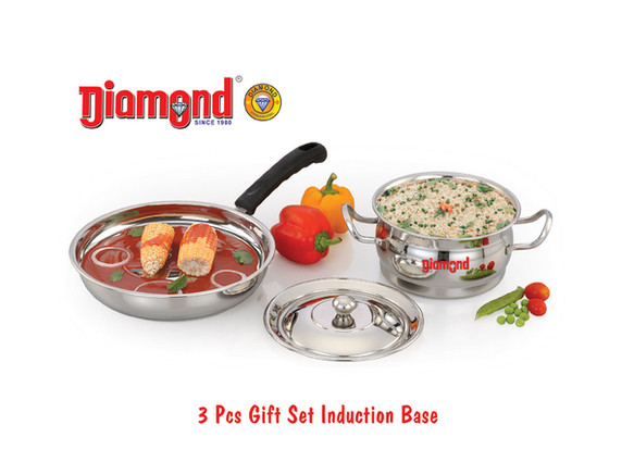 3pcs Gift Set Induction Base