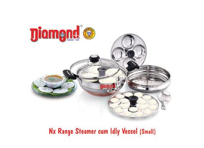 Nx Range Steamer Cum Idly Vessel (Small)