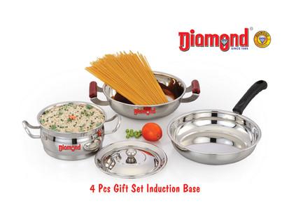 4pcs Gift Set Induction Base