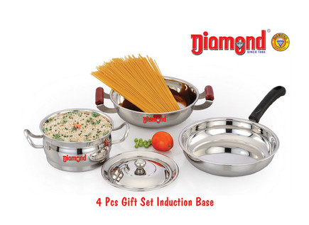 4pcs Gift Set Induction Base