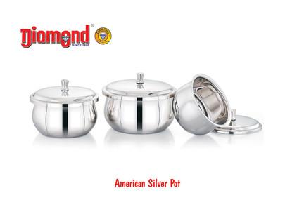 American Silver Pot