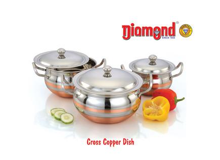 Cross Copper Dish