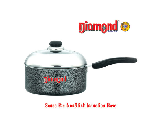Sauce Pan  Non-stick Induction Base