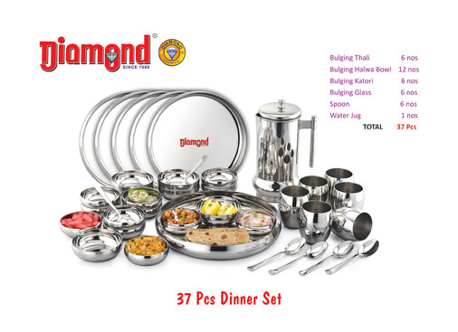 37pcs Dinner Set