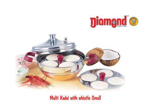 Multi Kadai With Whistle Small