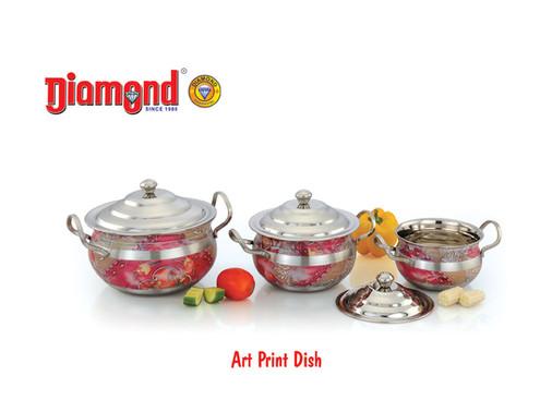 Art Print Dish