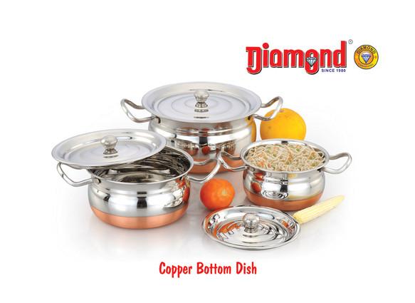 Copper Bottom Dish