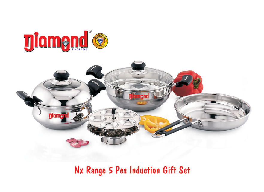 Nx Range 5pcs Induction Gift Set