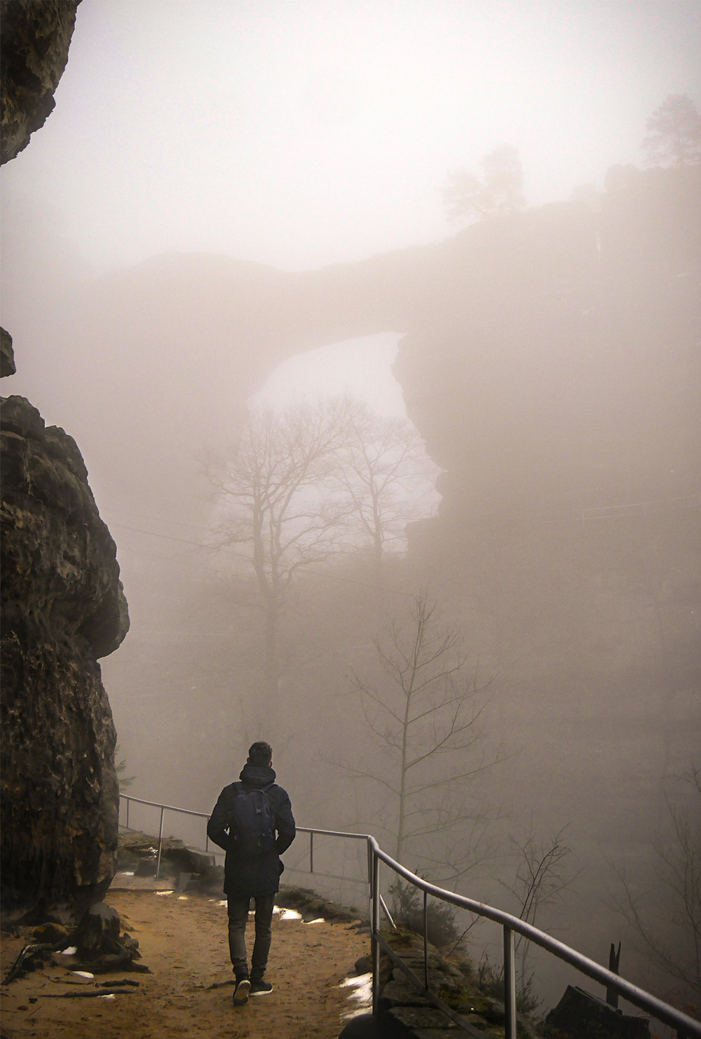 Pravčice Gate is the largest natural rock gate on the European continent and a national nature monument.