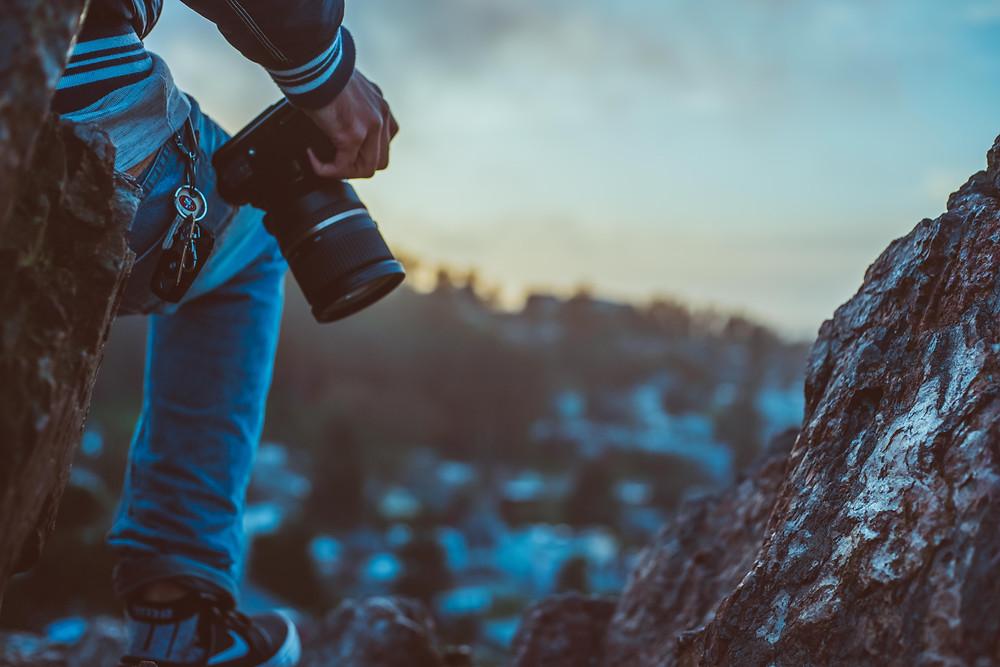 If you want to step up your Instagram game, invest in solid DSLR or Mirrorless camera.