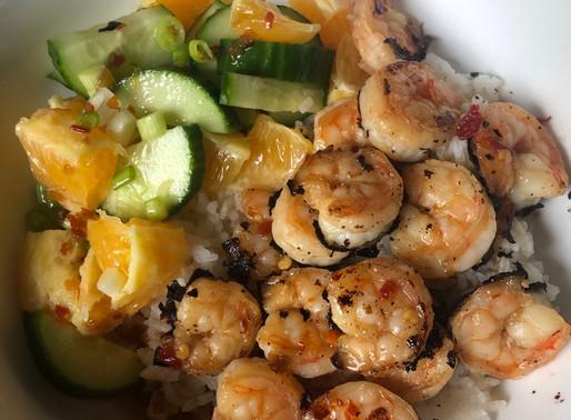 Citrus Shrimp Grain Bowl