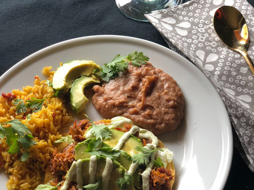 Mexican Pork Tostadas
