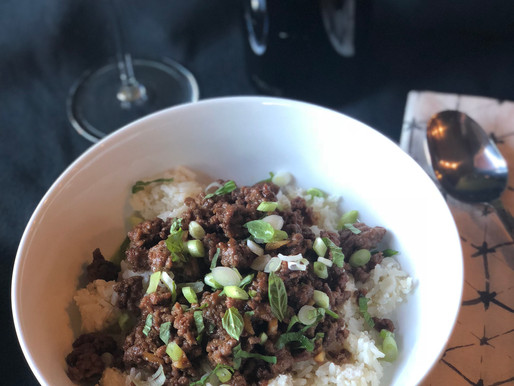 Kid Friendly Korean Beef and Coconut Rice