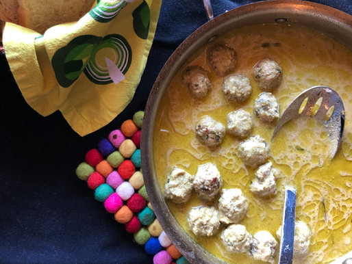 Curried Turkey and Zucchini Meatballs