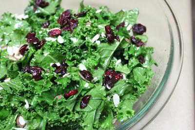 Sweet and Tart Kale Salad