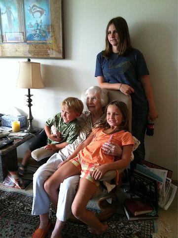 Jackie and Grandkids.jpg