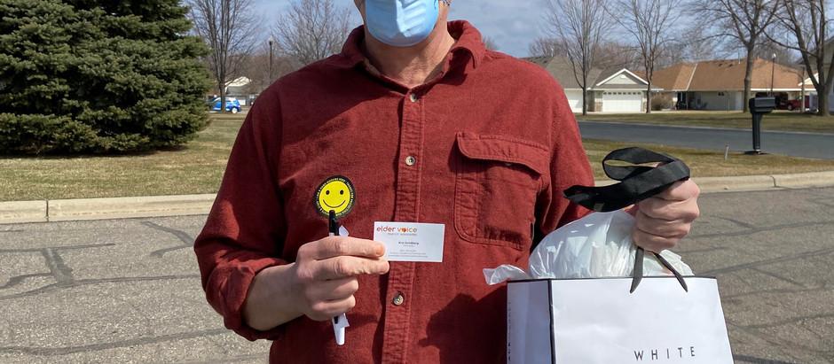 Gratitude to EVFA for masks