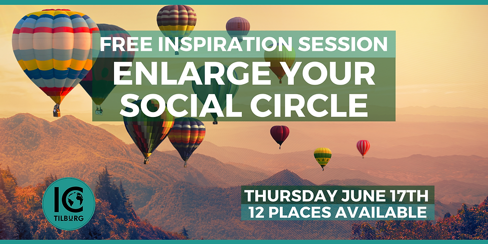 Free Inspiration Session | Enlarge your social circle