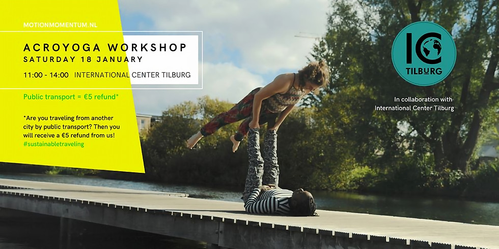 MotionMomentum |  Acroyoga Workshop (Starters & Intermediate)