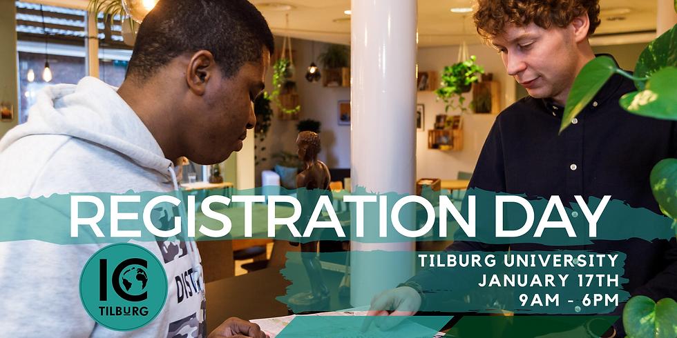 IC Tilburg Visits | Registration Day