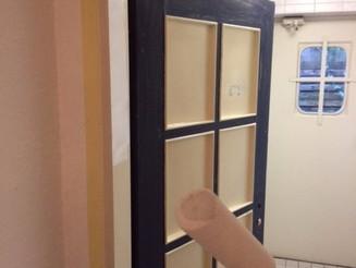 WC Türen lackieren