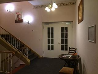 Renovierung des Treppenhauses im Hotel Riesenbeck