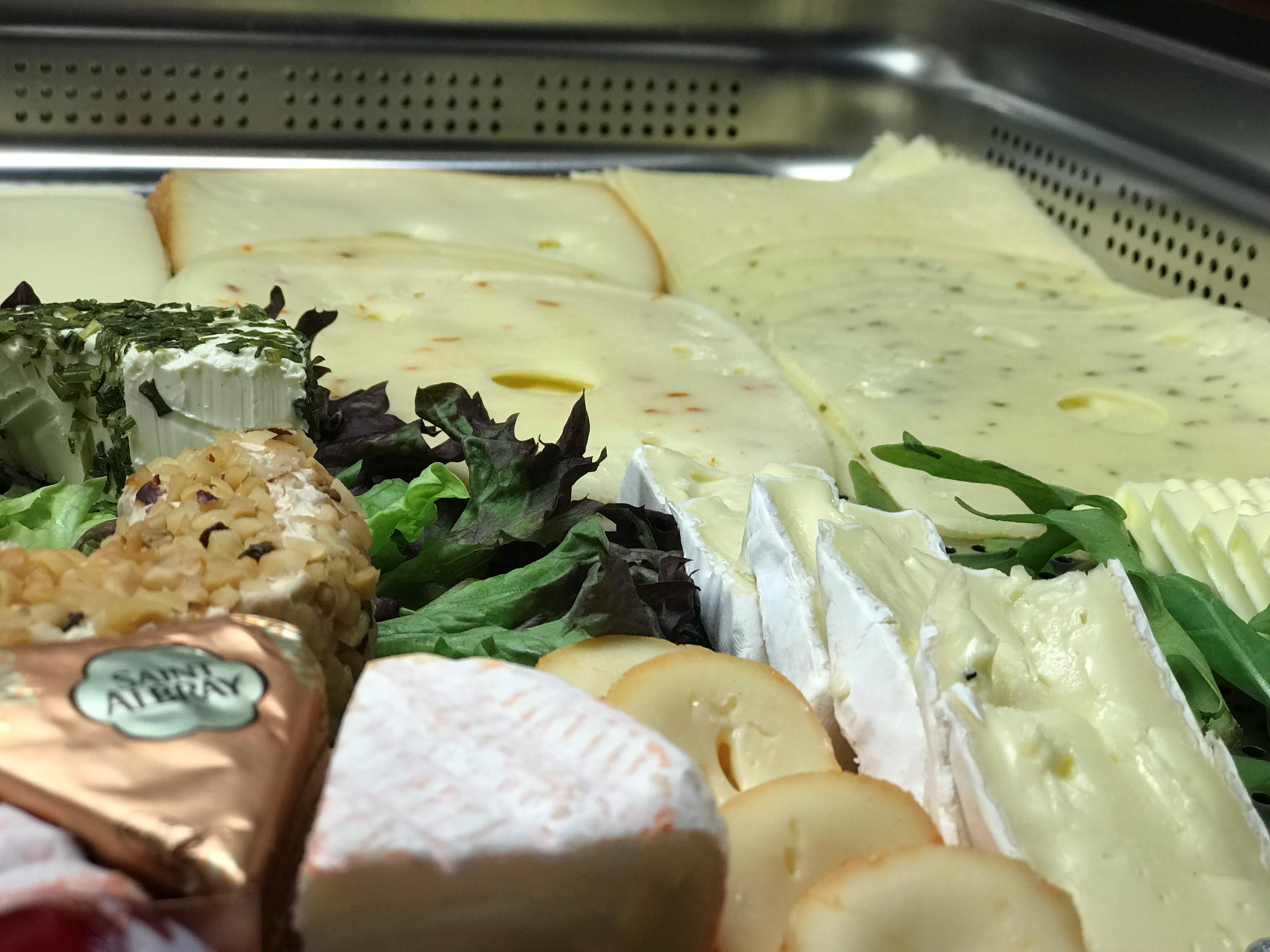 Diverse Briesorten